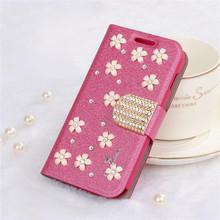 New Product Silk print diamond wallet case for blackberry z3