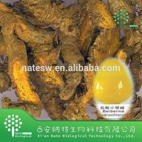 Super Quality Coptis chinensis Extract Powder Berberine hydrochloride 98%