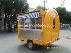 2014 New Style Hamburger Cart Food Kiosk Carts For Sale