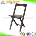 Antigüedades exterior silla plegable de madera para el jardín ( SP-EC826 )