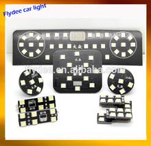 Car LED bulbs kit include reading light, festoon light, indicator lamp for VW GTI