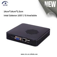 Mini ITX Barebone Fanless HTPC/Core i3/ VGA / HDMI / RJ45