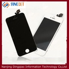 mobile phone lcd complete for iphone 5 lcd screen assembly,2014 hot!