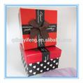 design lindo casamento de papelão caixa de presente embalagem