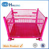 Auto industry stackable mobile storage cage