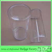 Printing custom PVC hollow plastic cylinders