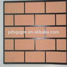 faux brick single color building wall cheap spray coating