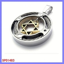 Wholesale Holy Stainless Steel Jewelry charms origami owl