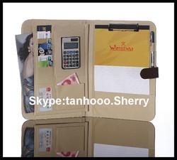 emboss your LOGO handmade file cover decoration/decoration file folder /file decoration with school file