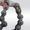 Strength and durability natrual finish drive motorcycle chain for motorbike