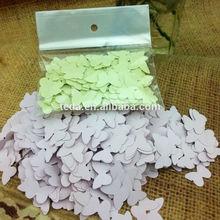 cut paper butterfly confettis wedding confettis