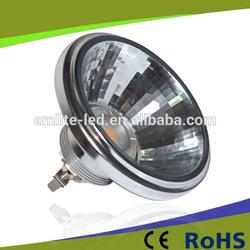 COB LED Ar111 9W G53 LED faretto Riflettore lampada AR111