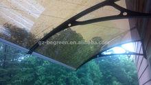 YP100600, 100cm*600cm wrought iron awning