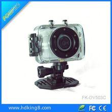 brand Camera DV123 Outdoor Sports Waterproof HD 1.77 TFT 1.3MP CMOS gift sport dv