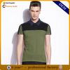 contrast color polo shirt design