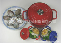 Round Color Cast Iron Cookware