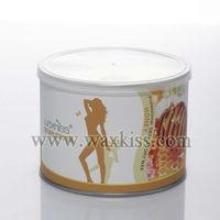 2014 best selling 14oz. soft depilatory strip wax for beauty use