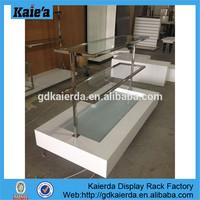 glass display table/glass clothing display table/glass top display table