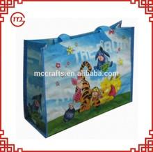 high quality china reusable 2014 hot pp woven travel bag