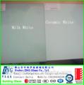 3mm 4mm 5mm 6mm 8mm 10mm 12mm 15mm leite branco de cerâmica branca de vidro laminado temperado