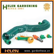 50-Foot 3/8-Inch Lead Safe Ultra-Light Recoil Garden Hose, Green Outdoor, Home, Garden, Supply, Maintenance