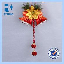 Handmade Paper Arts and Crafts Xmas Decor,Hanging Bells for Door