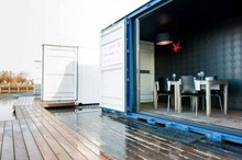 Wooden House Villa/Hotel Made by 2*20ft Modular Containers