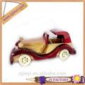 Potente barato juguete de madera del juguete antiguo de madera del modelo del coche