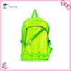 2014 trend PVC colored clear backpack