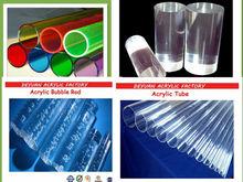100% de la virgen de plástico transparente varilla, Acrílico bar, De color de acrílico sólido tubo con precio venta al por mayor