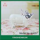 AH057 ceramic pig figurine pig kitchen decorations