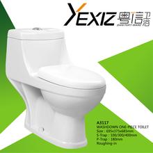 A3117 S/P-Trap Whole Sale Washdown Single Flushing Toilet