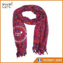 Fashion scarf with fringe pashmina