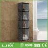 Custom manufacturer open shelf files lacquer book shelf