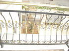 Direct factory used wrought iron fencing gor sale
