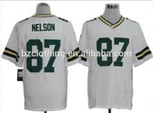 Green Bay Jordy Nelson #87 White American Football Elite Jersey