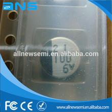 New & Original: Aluminum Electrolytic Capacitor 100UF 6.3V SMD CAPACITOR