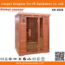 3 person infrared outdoor garden luxury infrared sauna room