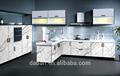 Moderne armoires de cuisine haute brillance acrylique cuisine porte de l'armoire