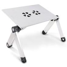 Folding Pad Desk Table Black