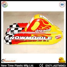 sport custom pvc inflatable snow tube for kids