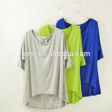 Most popular women t-shirt design short sleeve round neck Blank t-shirt