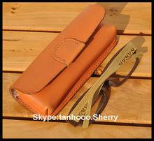 leather spectacle sunglasses case /Shenzhen factory custom design eyewear case leather / cute pu leather eyewear cases