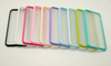 Wholesale Candy Color TPU + PC translucent frosted color Phone case For Iphone 6