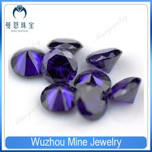 semi precious stone amethyst cubic ziroconia gems