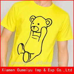 wholesale fashion colorful t shirt korea design