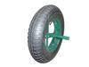 flat free tire 4.00-8 wheel barrow wheel 12 inch solid rubber wheel