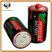 China manufacturer d size r20 dry battery 1.5v um1