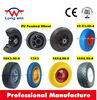 $30000 Trade Assurance flat free tire 4.00-8 wheel barrow 14 inch solid rubber wheel for wheelbarrow