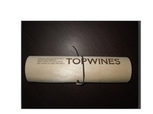 High quality echoi -friendly round wooden gift box for wine